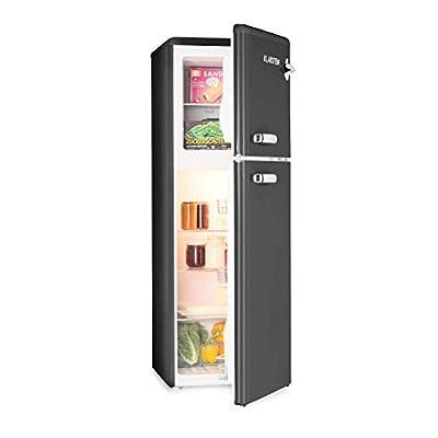 Klarstein Audrey Retro - Retro Refrigerator-Freezer Combination