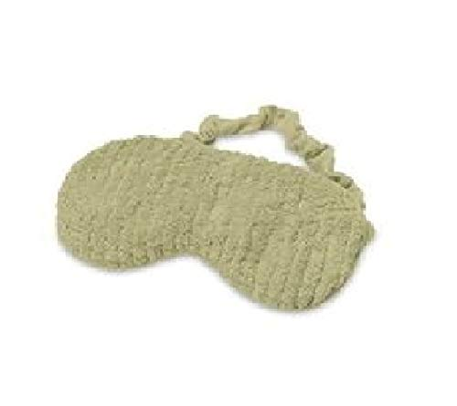 Intelex Warmies Microwavable French Lavender Scented Spa Eye Mask, Spa Green