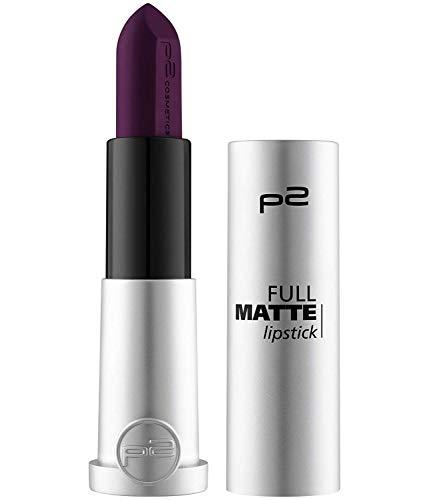 p2 cosmetics Lippenstift full matte lipstick 30, 4 g (120 take a stand)