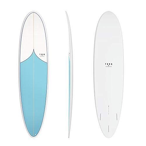 TORQ Tabla de surf Epoxy TET 7.6 Funboard Classic Mini Malibu