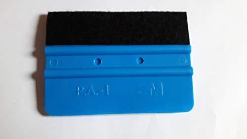 PA1 DaHici 3M Rakel mit Filzkante,Folienrakel/Filzrakel aus Kunststoff als Werkzeug für Folierung von: Autofolie, Möbelfolie, Fensterfolie, Tönungsfolie, Wantatto´s, Plotter- &Klebefolie u.v.m!