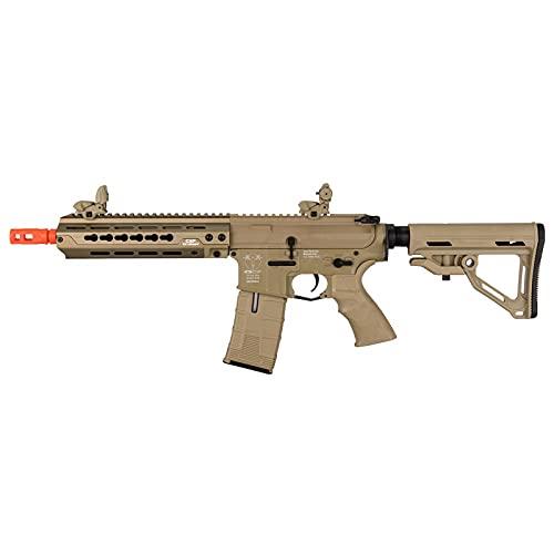 Lancer Tactical ICS CXP-HOP MTR Rear Wired Keymod Airsoft AEG Rifle Tan 400 FPS