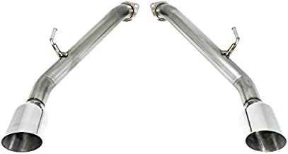 REMARK 304 Stainless Axleback Exhaust, Single Wall Tips : 2014+ Infiniti Q50 (Stainless Single Wall)