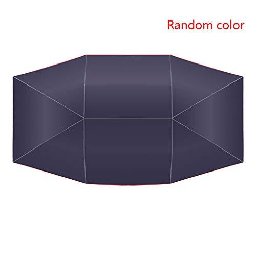 Republe Color al Azar del Coche Universal Sombrilla Sombra Tienda de campaña Cubierta de Techo de Tela Exterior Resistente Cubierta UV para la radiación UV Solar
