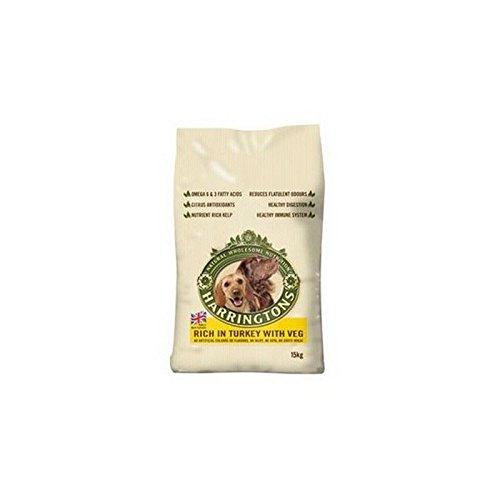 Harringtons Adult Hundefutter Mit Truthahn Und Gemüse (2Kg) (Packung mit 2)