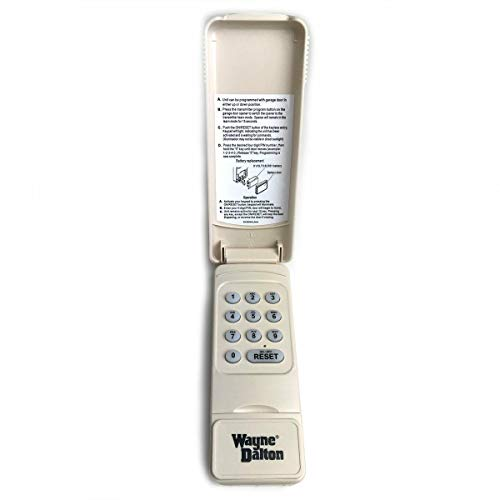 Best Price Wayne Dalton 327607 288830 Wireless Keypad 372 MHz Compatible w/ 327310 & 300643