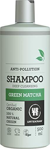 Urtekram Green Matcha Shampoo Bio, Tiefenreinigung, 500 ml