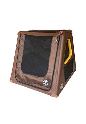 TAMI - Aufblasbares Hundebox Special Fliesheck - Dog Box Hundetransportbox Hund Autotransportbox Transportbox Falbare Hundekäfig