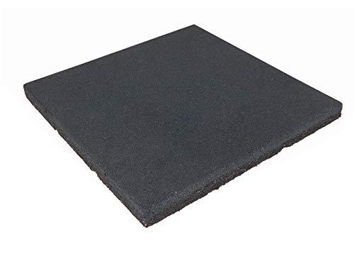 Bodytone Suelo de Caucho en losetas 1x1 m / 15 mm