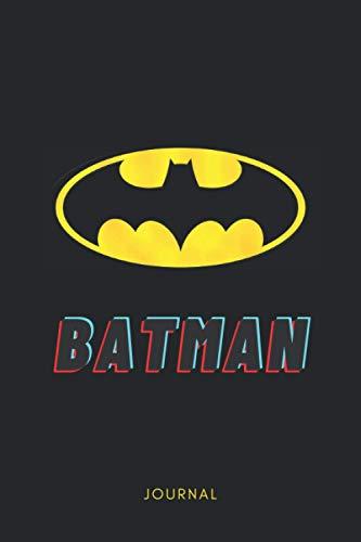 Batman Journal: Batman Journal/Notebook, Perfect Gift for Batman Fans, 120 pages, 6 x 9 inches