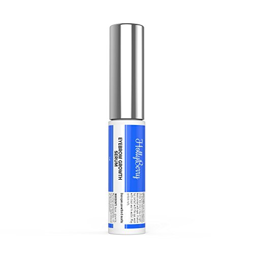 Hollyberry-Premium Eyebrow Growth Enhancing Serum-Peptide Boosting Formula for brows - Conditioner + Vitamins-Visibly Fuller Longer Eyebrows With Hyaluronic Acid Not tested on Amimals