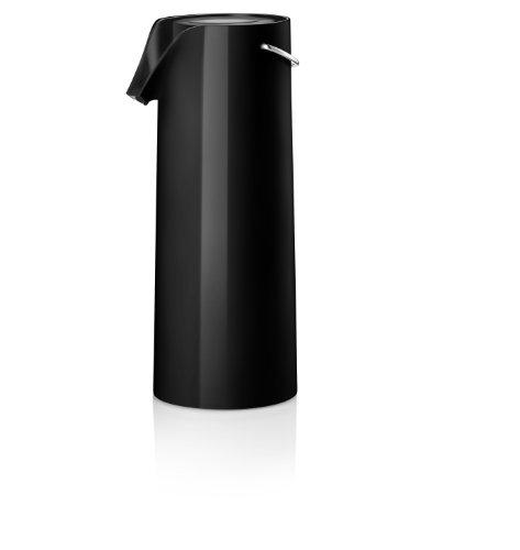 Eva Solo thermoskan met pomp, zwart, 1,8 l, 502900, roestvrij staal, 37,1 x 37,1 x 14,5 cm