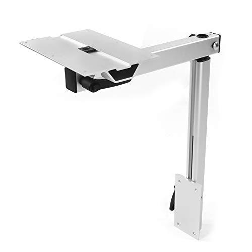 Akozon Pata de mesa extraíble, Pata Mesa Caravana Patas de escritorio Soporte de mesa 360 grados giratorio ajustable Patas de muebles de bricolaje para autocaravana caravana