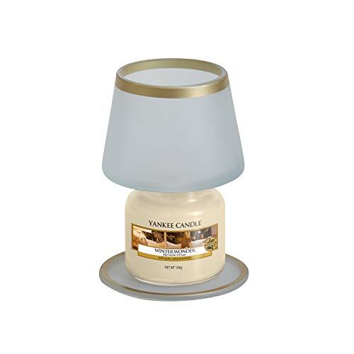 Yankee Candle-lampenkap met dienblad, klein, voor kleine glazen kaarsen