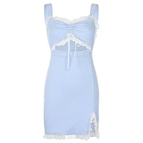 Girls Spring and Summer Pink Mini Dress Y2k Vest...