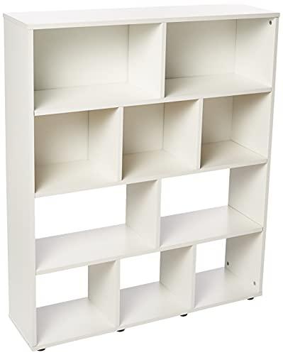 Estante para Livros Rack Book 3 Prateleiras Branco Artely