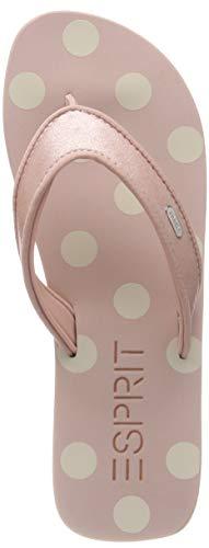 ESPRIT Damen Glitter Satin Pantoletten, Pink (Pink 670), 36 EU
