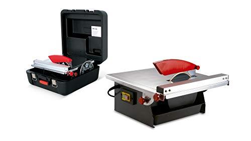 RUBI 25945 Cortador Diamant maletín de Transporte, 240 V, Gris, ND-180 230V-50Hz mit Koffer