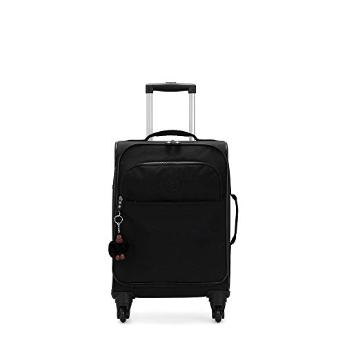 Kipling Parker Small Rolling Luggage Black Tonal