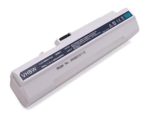 Batterie lI-iON 11,1 v 8800mAh pour aCER aSPIRE oNE d150 d250 531/150, d x 250