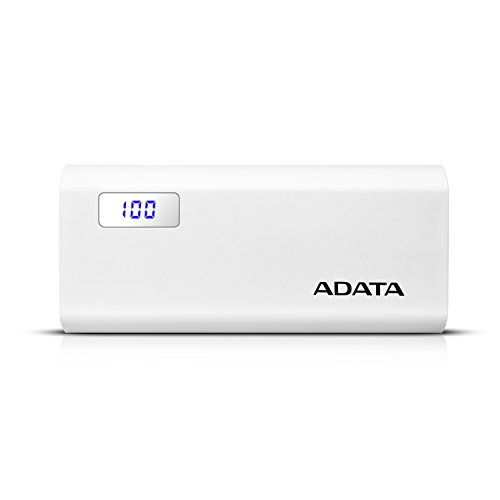 ADATA P12500D Powerbank, 12500mAh, schwarz/weiß