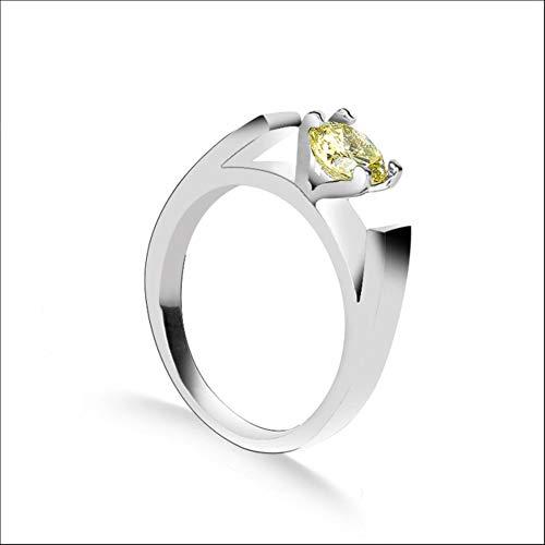 Vrouwen verlovingsjuwelen Vingerringen Trouwjuwelen voor vrouwelijke kristallen Belofte Ringen Femme Bijoux