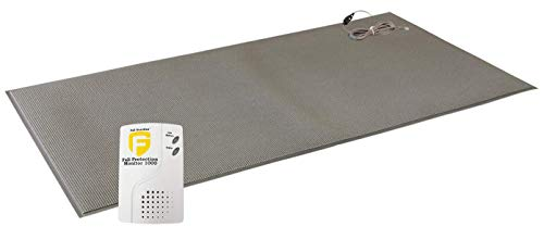 Fall Guardian Fall Protection Monitor 1000 and Floor Mat 1 Year Warranty, White