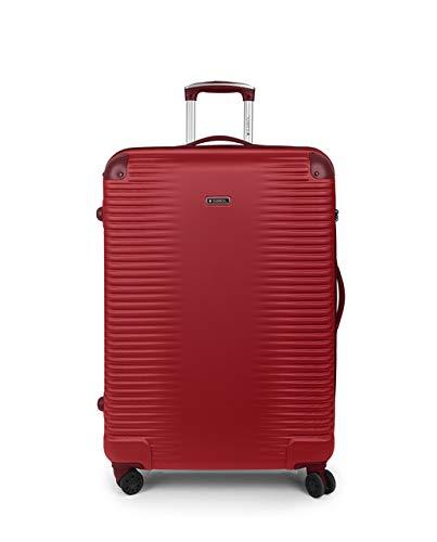 Gabol - Balance | Maletas de Viaje Grandes Rigidas de 52 x 76 x 28 cm con Capacidad para 85 L de Color Rojo