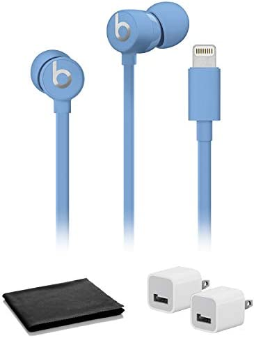 Beats by Dr Dre urBeats3 in Ear Headphones Blue with USB Adapter Cubes product image