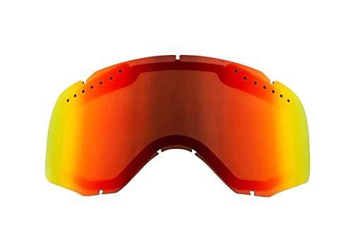 Ethen LS0605 lenzen skiën 06 Red Unisex Adult, meerkleurig, uniek
