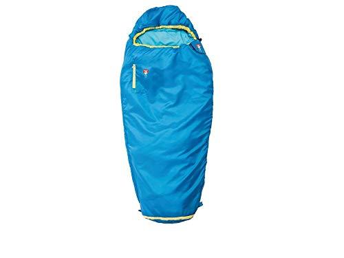 Grüezi-Bag Kids Grow Colorful Water Mitwachsender Kinder Schlafsack, Körpergrößen 100-150 cm, Kinder Mumienschlafsack, 1000g, Ø21 x 15 cm, raschelfrei