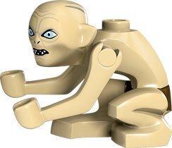 LEGO The Hobbit Gollum Minifigure Narrow Eyes (2012) by Lego