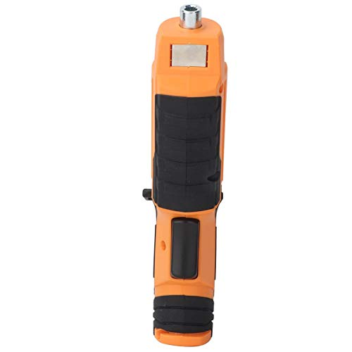 Electric Screwdriver, Handheld With Led Light Rechargeable Rotating 4.5N.M Max Force Cordless Screwdriver, for Women Men