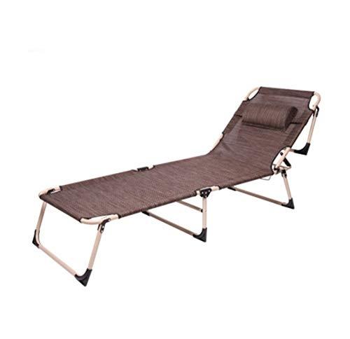 Chaise Lounge - Tumbona plegable para exteriores, 3 posiciones, reclinable o tumbona, masaje de bronceado plano