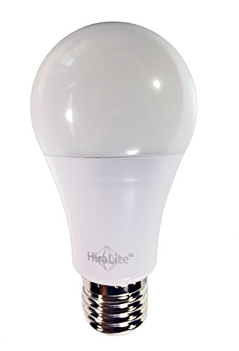 HiraLite Ampoule LED 11 W lumière du jour 5000 K/Ra95 Remplace parfaitement une ampoule à incandescence 60 W Qualité de lumière brillante sans scintillement grâce à la nouvelle technologie innovante.