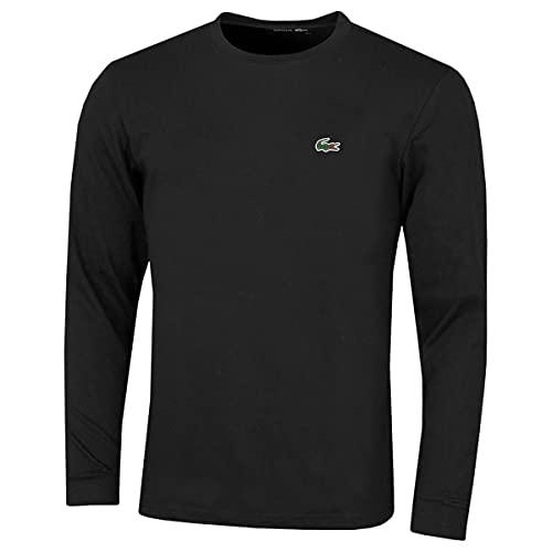 Lacoste TH0123 Camiseta, Noir, L...