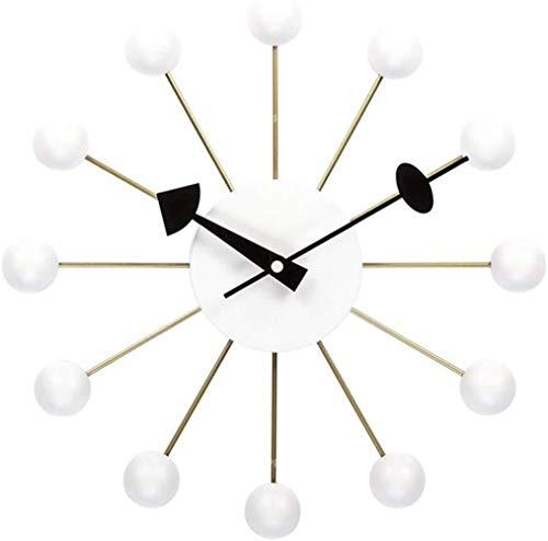T-T-zhongbiao Nordic Candy Wandklok, Home Designer Woonkamer Restaurant Slaapkamer Klok Mute Creatieve Horloges 13 Inch