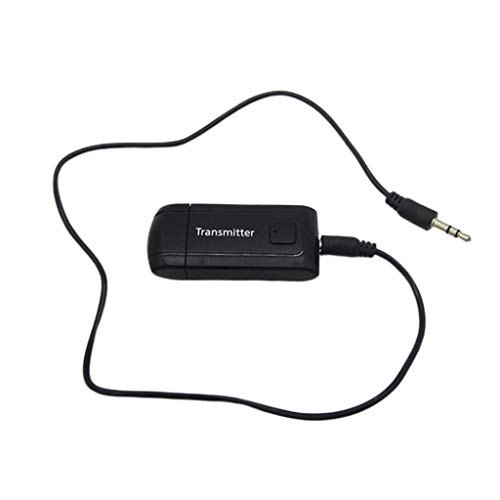 Oyrcvweuy Wireless Bluetooth 4.2 Trasmettitore 3.5MM Adattatore AUX Stereo Ricevitore USB per dongle per PC TV Accessori per Cuffie per Computer