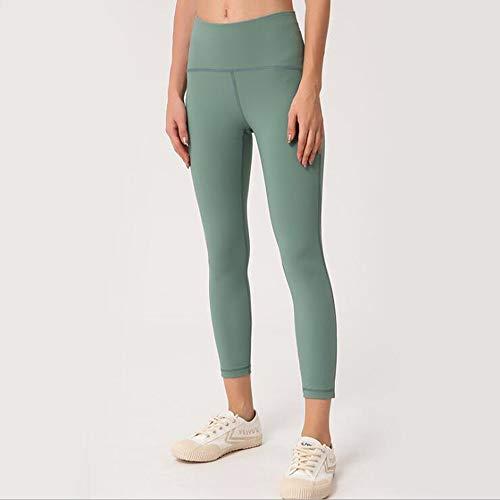 HCYTPL Yoga TopYoga Broek Vrouwen Hoge Taille Raise Mesh Gauze Skinny Broek Effen Kleur Yoga Broek