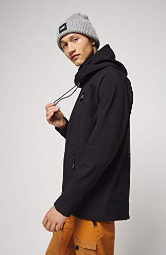 O'NEILL PM Tech Hyperfleece Hoodie-9010 Black Out-M, Pull Homme