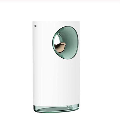Geen logo SHENNJRR Muziek Luchtbevochtiger Oplaadbare Ultrasone USB rustgevende Druk Aromatherapie Etherische Olie Diffuser