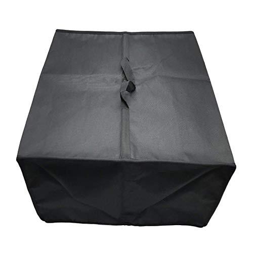 FWJT Protector de Caja Impermeable de Tela de Nylon Premium Protector de Caja de Polvo para Canon HP Epson Impresoras (Negro) (Size : 18.5 * 15.4 * 5.9in)