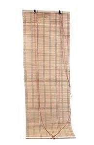 LEYENDAS Estores de Bambú Cortina de Madera Persiana Enrollable (110_x_175_cm)