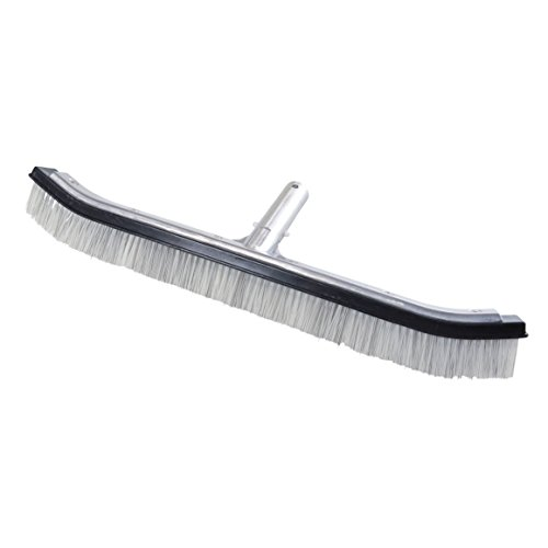 Milliard 17.5 inch Heavy Duty Nylon and Stainless Steel Wire Hybrid Swimming Pool Algae Brush - Extra-Wide