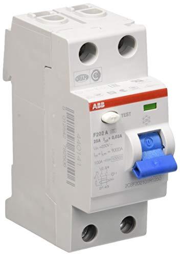 ABB - Interruptor automático (25 A F202A-25/0,03)