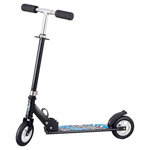 WUDAXIAN Scooter portátil de 2 Ruedas, Patinete electrónico Plegable para niños, Adultos, Adolescentes y Viajero Interno del Maletero del Coche