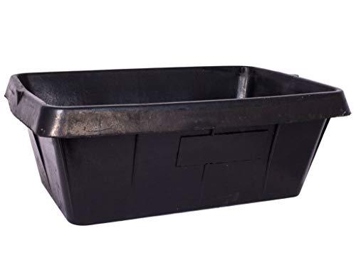 Tubtrub Große Futterkrippe aus Recycling Reifen 30l
