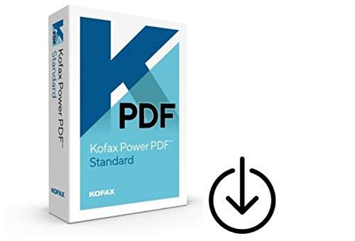 Kofax (ehemals Nuance) Power PDF 3.0 Standard 1PC/WIN Vollversion unbegrenzte Laufzeit Aktivierungscode per Post [Lizenz][KEINE CD][NO