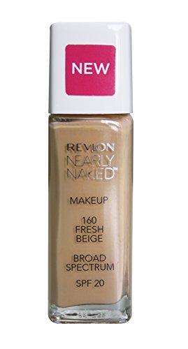 Revlon Nearly Naked Make Up Spf 20 Foundation, Fresh Beige