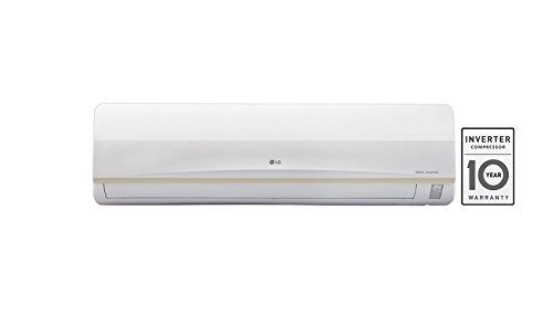 LG 1.5 Ton 3 Star Inverter Split AC (Copper, JS-Q18PUXA, White)